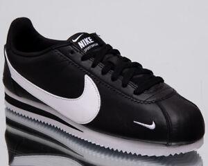 270a80a935c9 Nike Classic Cortez Premium Men's New Black Casual Lifestyle Shoes ...