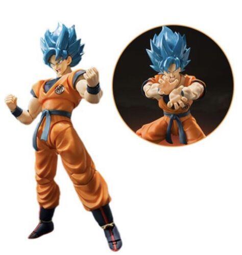 SH Figuarts Dragon Ball Super Saiyan God Blue Son Goku In Stock Authentic