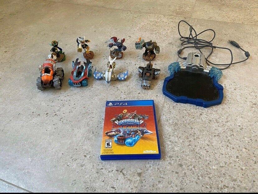 Skylanders Superchargers, PS4, racing