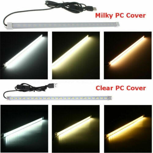 35CM//50 USB LED Tube with Switch 5630 Under Cabinet Rigid Strip Hard Bar Light
