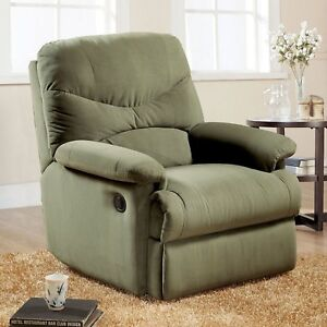 Full Body Recliner Chair Modern Contemporary For Living Room Lazy Sofa Boy Couch