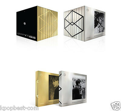EXO - EXODUS 2nd Album Korean Ver, All cover set + 10 Members UNFOLDED Posters