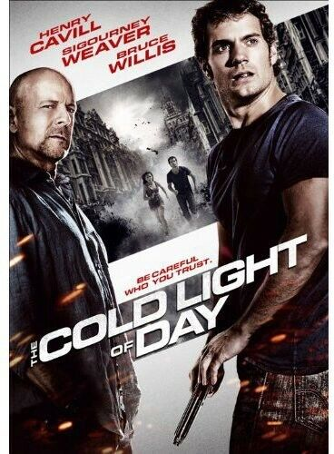 Cold Light Of Day - DVD By Henry Cavill,Sigourney Weaver,Bruce Willis - GOOD - $4.58