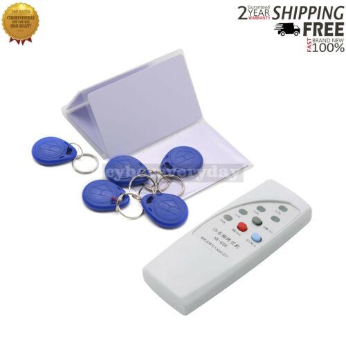 Handheld 125Khz RFID ID Card Reader Copier Writer Duplicator with 5 Keyfobs