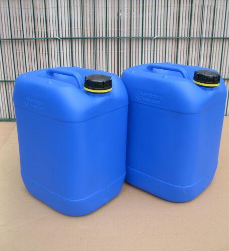 2 x 20 L Campingkanister Getränkekanister Wasserkanister Plastikkanister
