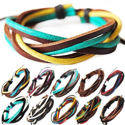 Beach Serie 3-surferarmband Unisex!armband Lederarmband Leather Bracelet Hoher Standard In QualitäT Und Hygiene