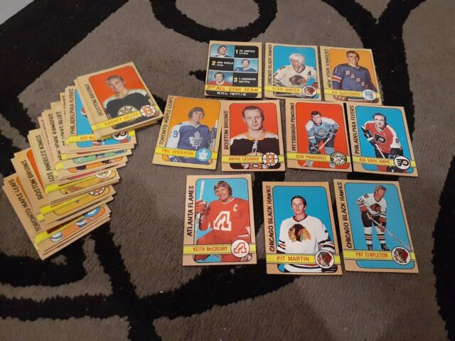 1972-73 O-PEE-CHEE 34 Vintage Hockey Cards Lot Stars & Includes 1 Rookie Card!!