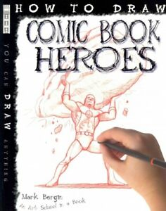 How-to-Draw-Comic-Book-Heroes-Paperback-by-Bergin-Mark-Brand-New-Free-shi