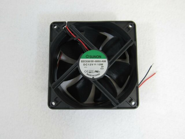 Sunon EEC0381B1-000U-A99 Axial Fan 12V DC 10W 120 x 120 x 38mm 2-Wire 27-4