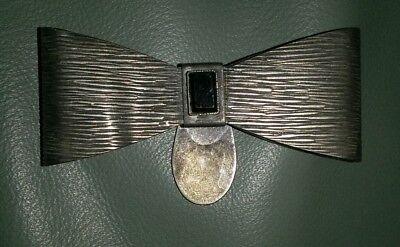 Verantwortlich Museale RaritÄt Art Deco Frauenfliege Um 1922 Mit Onyx Silber Unikat Goldschmide Broschen Schmuck & Accessoires