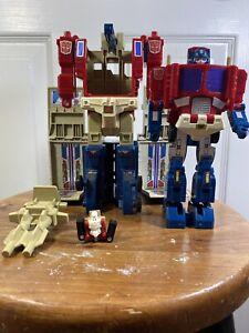 Vintage-G1-Transformers-1988-Power-Master-Optimus-Prime-RARE