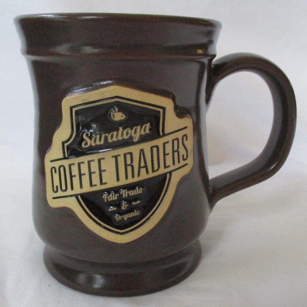 SARATOGA COFFEE TRADERS 2016 marron COFFEE MUG - NEW