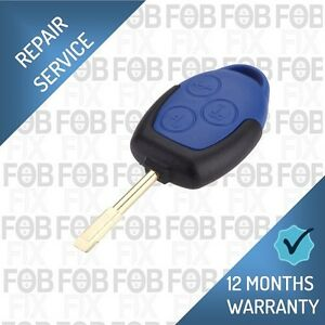 FORD KEY BLADE FITS TRANSIT CONNECT MK7 BLUE REMOTE FOB CASE NEW UNCUT REPAIR