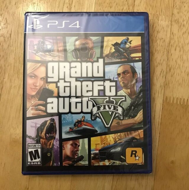 🔥Grand Theft Auto V _ GTA 5 - PlayStation 4 PS4🔥[US version/Factory Sealed]