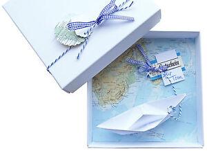 geldgeschenk verpackung reise gutschein schiff geschenk geburtstag hochzeit geld. Black Bedroom Furniture Sets. Home Design Ideas