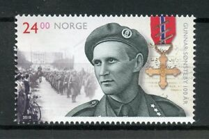 Norway-2018-MNH-Gunnar-Sonsteby-WWII-WW2-Resistance-1v-Set-Military-Stamps