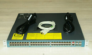 Cisco-WS-C4948-E-Catalyst-48-Gig-Port-L3-Switch-w-Dual-PSU-1YrWty-TaxInv
