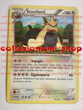 STOUTLAND - RARA 83/114 - BIANCO E NERO - POKEMON - ITALIANO - GOOD