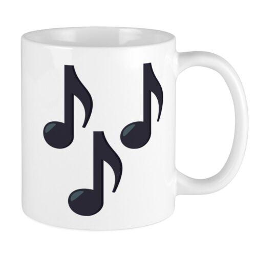 CafePress Music Notes Emoji 11 oz Ceramic Mug 67103213