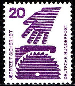696-A-postfrisch-BRD-Bund-Deutschland-Briefmarke-Jahrgang-1971