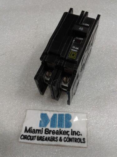 QOU240 Square D 2Pole 40Amp 240V Circuit Breaker NEW!