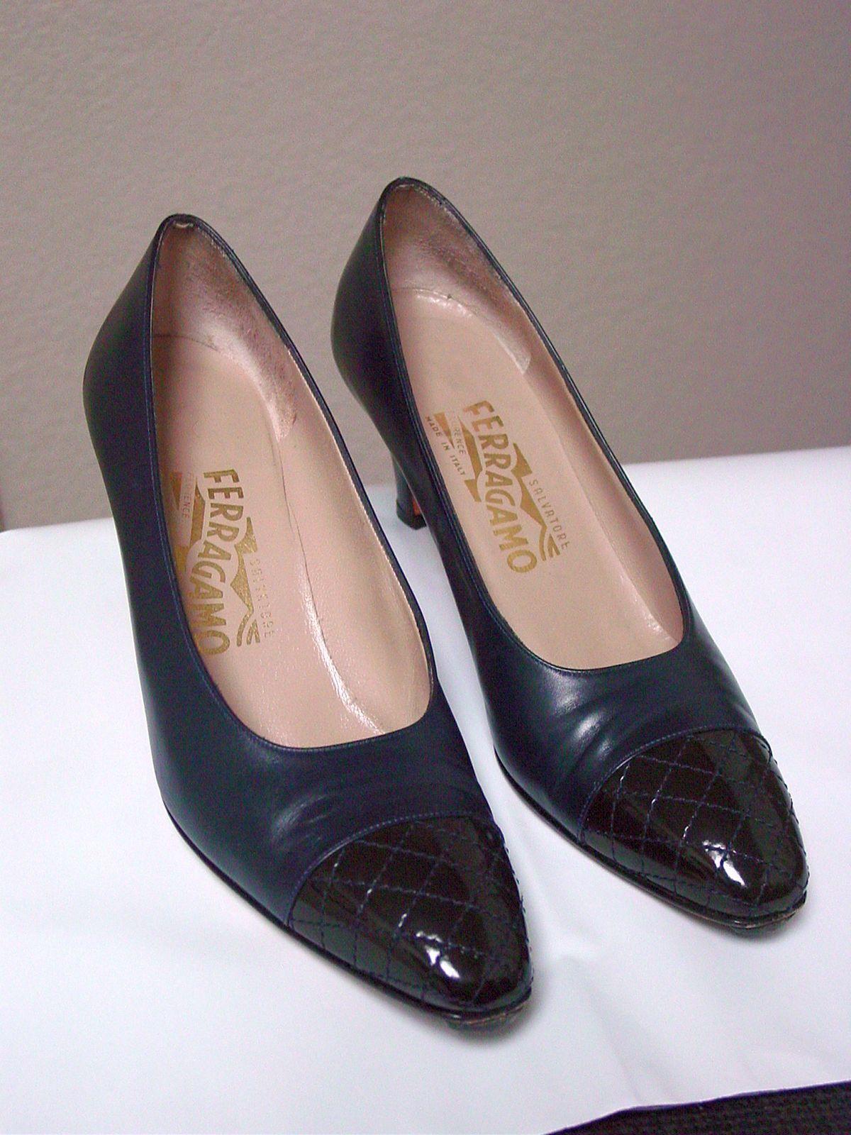 damen Salvatore Ferragamo Ferragamo Ferragamo Classic Heels Pumps  7 1 2 AAA schuhe Quilt Toe 06f4b4