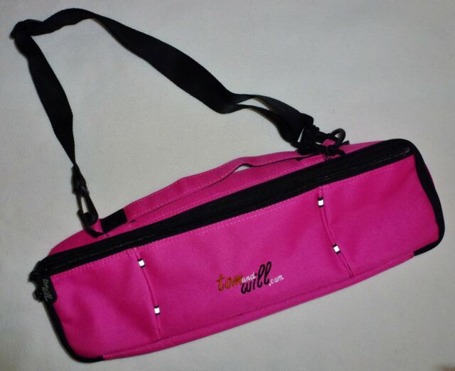 TOM and & WILL FLUTE CASE COVER HOT PINK