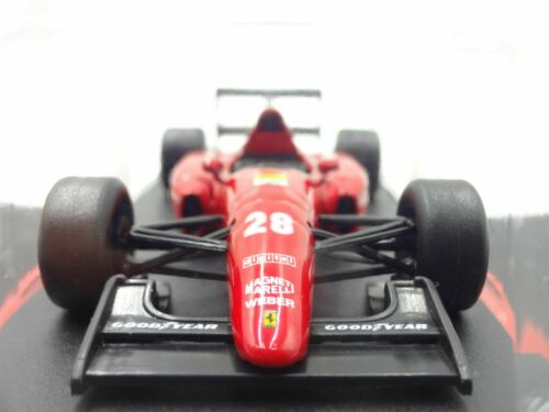 Ferrari Collection F1 F92A 1992 Ivan 1//43 Scale Box Mini Car Display Diecast