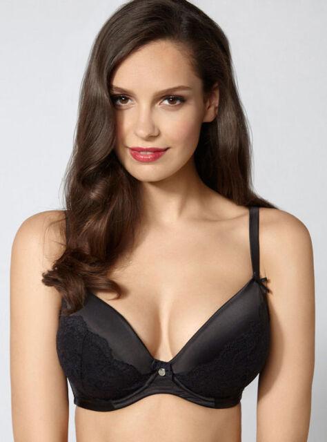 11f83fc52118b Boux Avenue Samantha Black Plunge Bra Size 36f Ls078 BB 04 for sale ...