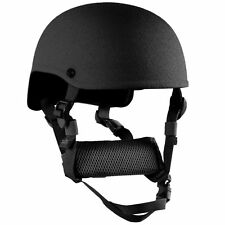 Large (Black) Mich / Ach Level IIIA Advanced Combat Ballistic Helmet High C