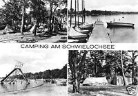 AK, Goyatz, Camping am Schwielochsee, vier Abb., 1975
