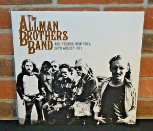 THE-ALLMAN-BROTHERS-BAND-A-amp-R-Studios-1971-Ltd-Import-2LP-BLACK-VINYL-Gatefold