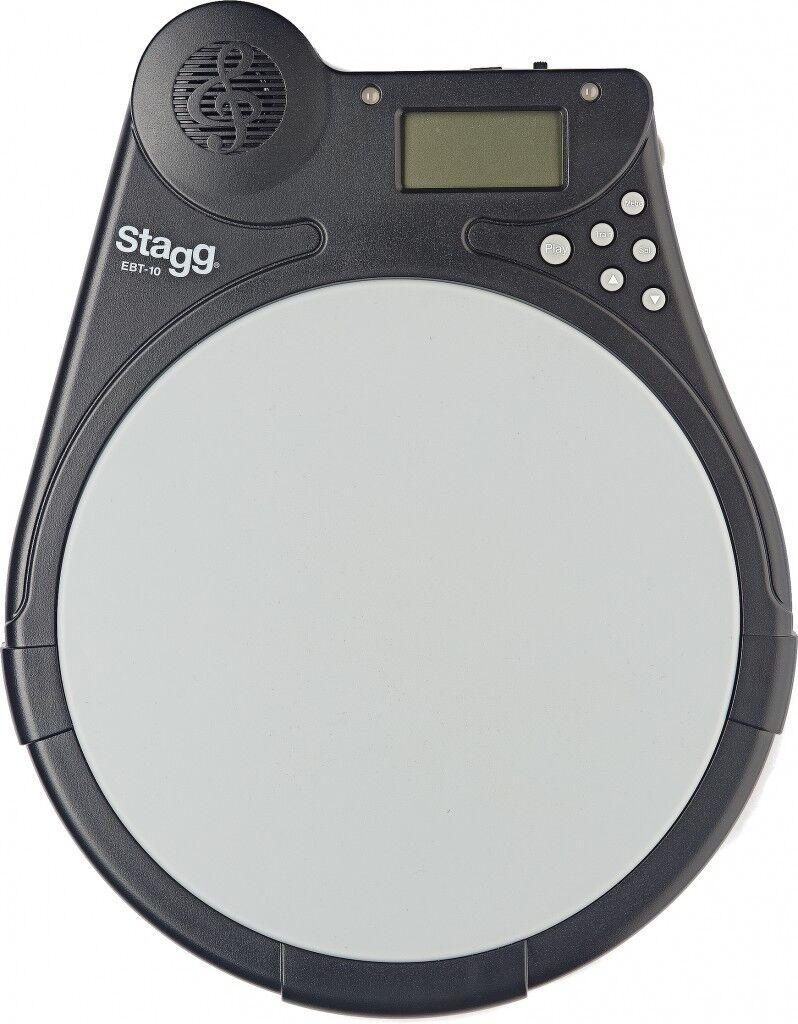 Ebt-10 Drum übungspad con Tama Electronic BEAT tutor Elettronico Leerdam-P