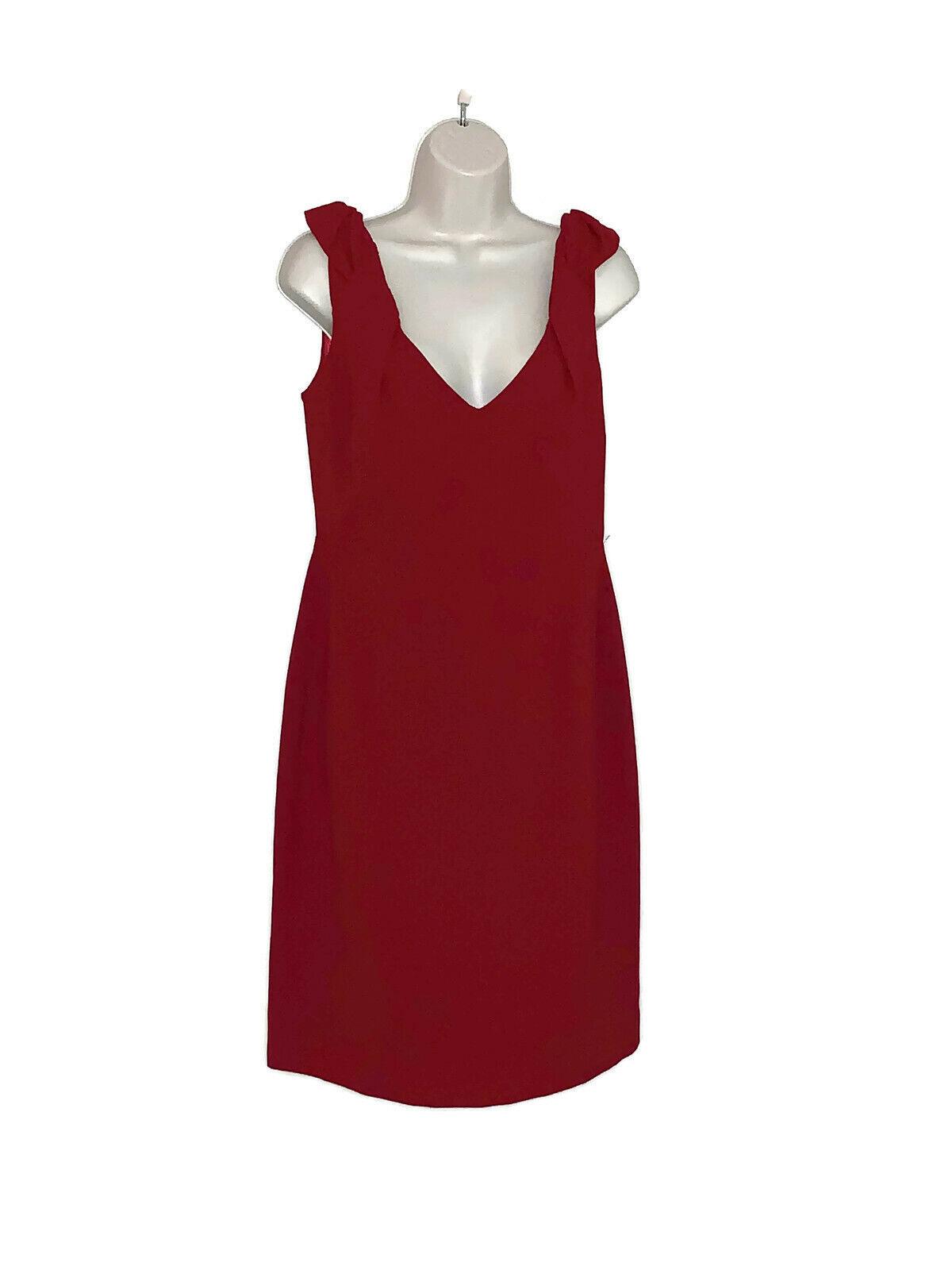 ELIE TAHARI Größe 10  Merotith  Dress Ruby King Zipper Lined NWT