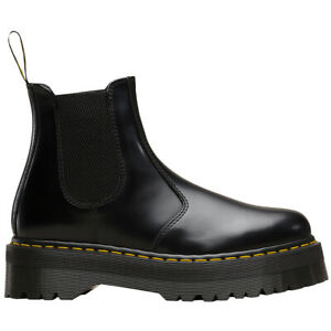 Dr-Martens-2976-Quad-Leather-Womens-Mens-Slip-On-Ankle-Unisex-Boots