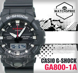 5891c75338d4 Image is loading Casio-G-Shock-GA-800-Analog-Digital-Watch-
