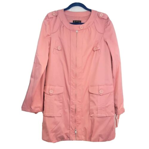 Inc. International Concepts Pink Spring Coat Size
