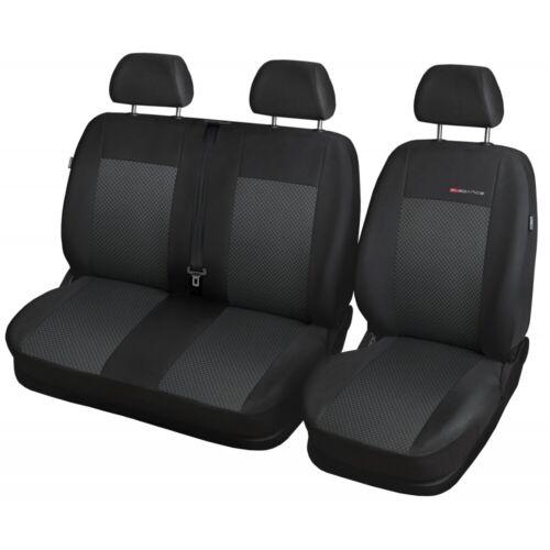 Renault Trafic 2001-2014 BUS Auto Maßgefertigt Maß Sitzbezüge Schonbezug P3