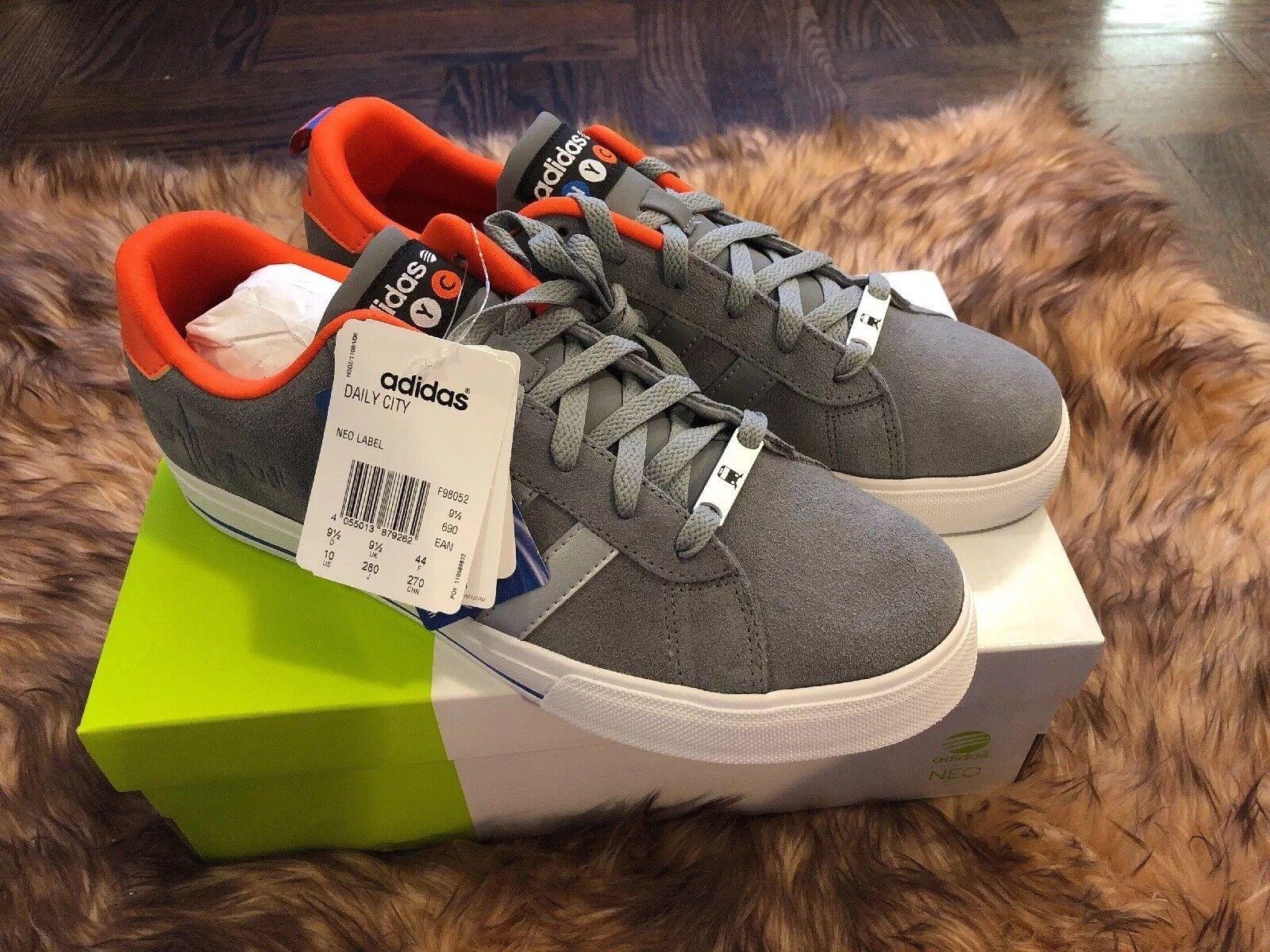 Men's Adidas NEO Daily City NYC Size 10