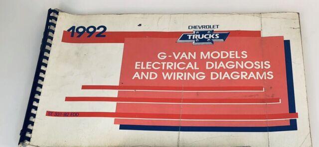 1992 Chevrolet Gm Full Size Van G