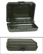 Mil-Tec Aufbewahrungsbox 12x10x3,5cm Oliv Small Klein Box Schachtel Plastikbox