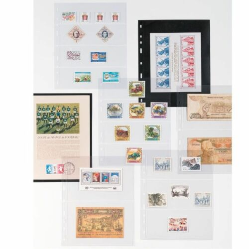 Coins Collection Clear Album Pages OPTIMA M24 Leuchtturm 319236 up to 34 mm Ø
