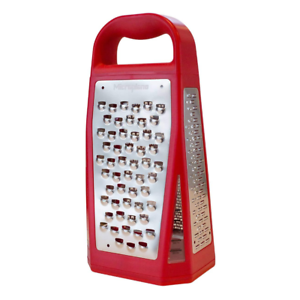 Red Microplane 34109 Elite Five Blade Four Sided Box Grater