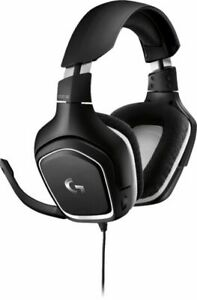 Logitech G332 SE Wired Stereo Gaming Headset - Black and White NEW FREE SHIPPING