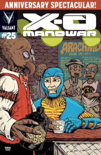 X-O Manowar #25 Rafer Roberts Beyond Comics Variant Ltd 500