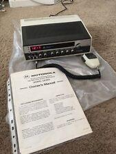 Motorola CB 555 SSB System 500 AM LSB USB Transceiver Single Sideband Base Unit