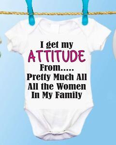 1ca04dfd Girl Power Sassy Attitude Gerber Brand Onesie, Baby Shower Gift Idea ...