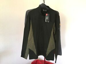 fa33f77dd2 Details about NWT 2018 UA under armour Spectra 1/2 Zip Mens L Large Shirt  Fleece Layer we63