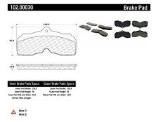 Disc Brake Pad Set Front Centric 106.08200