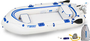 Sea-Eagle-Se9-Watersnake-Motor-Package-Inflatable-Runabout-Boat-Tender-Dingy